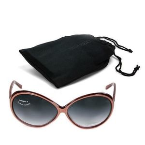 Nina Ricci Brown Celebrity Style Sunglasses